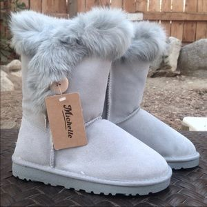 Shoes - Michelle winter furry boots